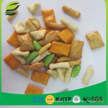 Buena calidad japonés snacks mezclado arroz crackers precio barato
