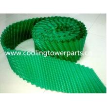 Nuevo termoformado de PVC para torre de enfriamiento