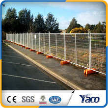 temporary chain link fence or removable chain link fence