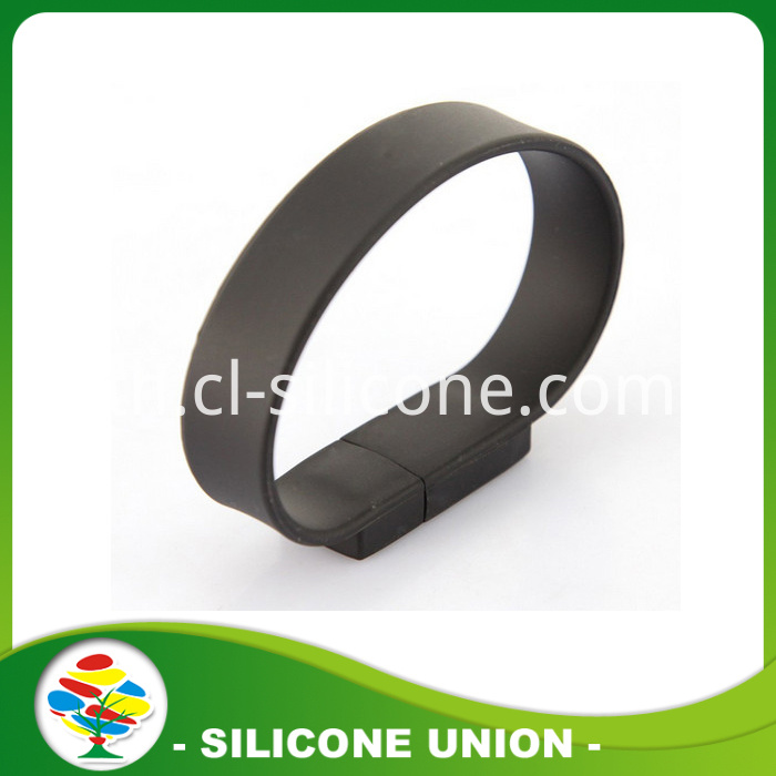 Hot Sell Fashion Silicone 2GB USB Bracelet