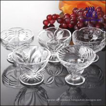 Spiral Glass Ice Cream Cup (GB1003ZS)