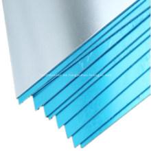Hoja de aluminio para equipos de fabricación de paneles solares