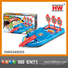 Interesting hand football game kids shooting game machine