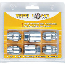 Aluminum Wheel Nut and Locks Sets