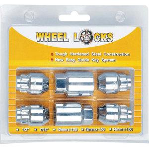 Aluminum Wheel Nut and Locks Sets