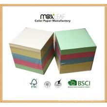 90*90*90mm Color Memo Pad/ Paper Cute /Paper Cube