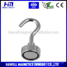 Высокая тянущая сила магнита неодимового горшка с крючком