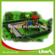 Équipement de jeux d'enfants en plein air à vendre, aménagement personnalisé de l'équipement de jeux pour enfants