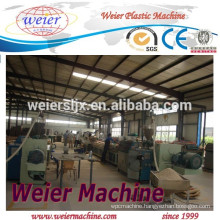 Wood plastic composite granulate machine line