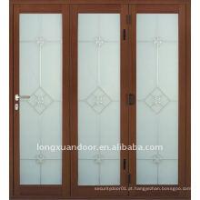 Porta corrediça de vidro