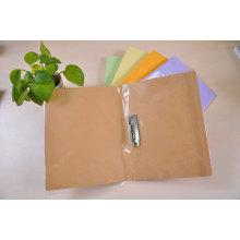 Dossier de remplissage de papier avec un clip en métal simple