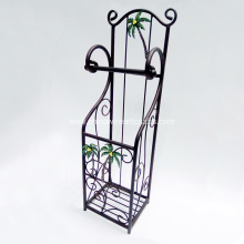 Metal Palm Towel Paper Holder For Bathroom