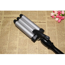 Triple Tongs Hair Curling Iron