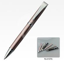 Nuevos plumas promocionales del regalo del metal de la pluma de los efectos de escritorio de la llegada para la fuente de oficina