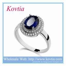 Neue Produkte 2016 Schmuck Weiß Gold Ring Designs für intelligente Männer Ring Yiwu Schmuck