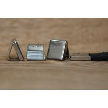 Extremo del clip del metal del precio de fábrica para el clip del extremo del cordón / del cordón para la correa