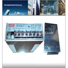 Fuente de alimentación de emergencia del elevador del meanwell SP-200-27 cable de transmisión del elevador