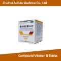 Compound Vitamin B Tablet / Pill