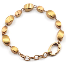 Hochwertiges Edelstahl Perlen Armband