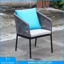 Foshan Best vente chaise extérieure tissée à la main
