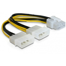 Customized 8pin Y Molex Power Cable