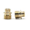 Piezas de fontanería de latón personalizadas Mecanizado de piezas de latón