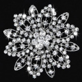 newest design brand fashion rhinestone crystal bridal brooches vintage fancy brooches for women top quality party brooches