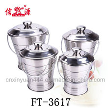 Stainless Steel Food Bucket (FT-3617)