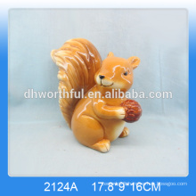 New arrival!Cheap lovely ceramic squirrel decoration for home decor