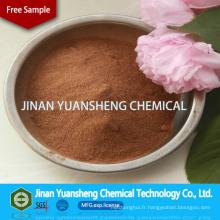 Lignosulfonate de sodium de fournisseur d'engrais / liant d'engrais fournisseur avec la palette
