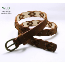 Fashion Weave Style Young Lady′s Belt Ky6319