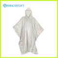 Promotional Waterproof Transparent PVC Rain Poncho Rvc-090