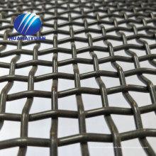 1.2 * 2m 65Mn gewebter vibrierender Schirmmaschenstahlzerkleinerungsmaschensteinsteinbruch-Maschensieb