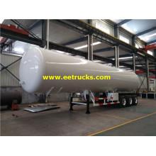 56cbm LPG Delivery Trailer Tankers