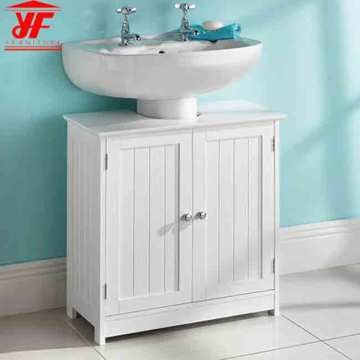 Wood Modern Knock Down Bathroom Vanity Cabinet