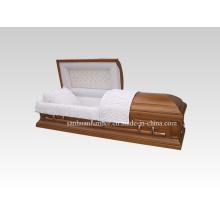Caixão de madeira & caixão (A001)