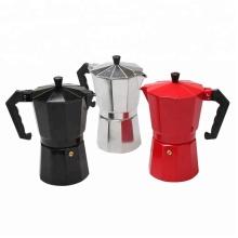 Herd Kaffeemaschine Aluminium italienischen Moka Pot