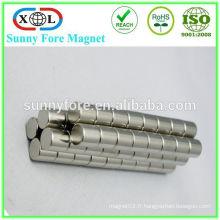 Fabricant d'aimants néodyme N35-N52 Chine taille faite sur commande