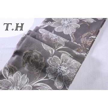 Diseño floral grande de la tela del telar jacquar para el sofá y los muebles