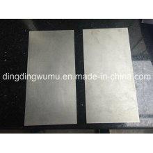 Hoja cuadrada de molibdeno puro para escudo de reflexión