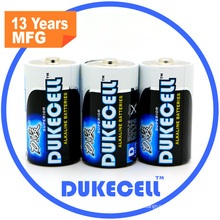 0% Hg Battery Lr20 Alkaline Battery 1.5V D