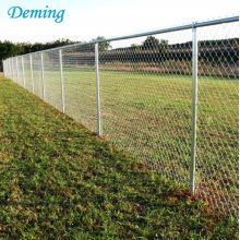 9 Gauge Hot Dipped Galvaniserad Chain Link Fence