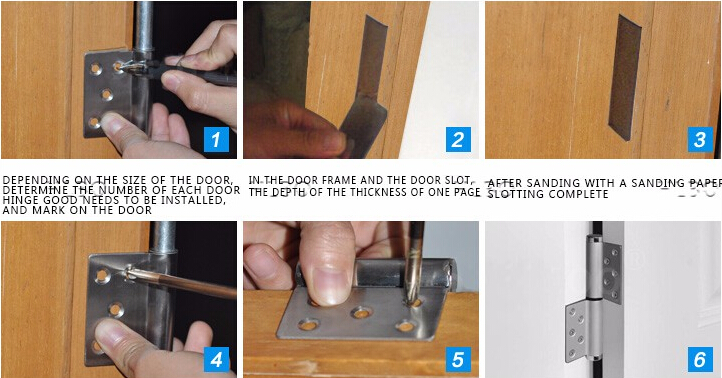 Door Rebound Hinges