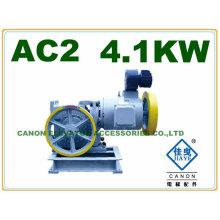 400KG 4.1KW AC2 elevador motor