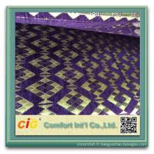 100 polyester canapé Chenille chenille canapé tissu