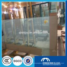 Grande taille 3660 * 2140 flotteur prix du verre pour réservoir de poissons de la Chine