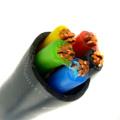 Todas as cores 3x2.5mm2 8mm cabo de alimentação pvc