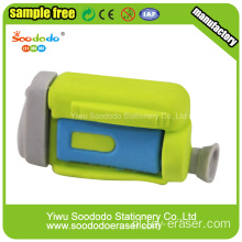 Green Dv Camera Novetly Eraser, Rubber eco-TPR gum