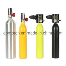 0.5L-1L Scuba Diving Use Oxygen Aluminum Cylinders