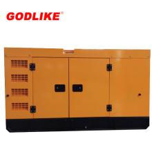 Sistema de generador diesel insonoro del precio de fábrica CUMMINS (200kVA / 160kw)